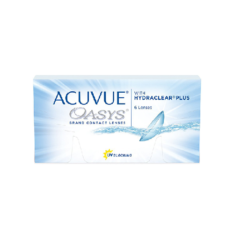 Контактные линзы Acuvue Oasys Oasys with HYDRACLEAR Plus